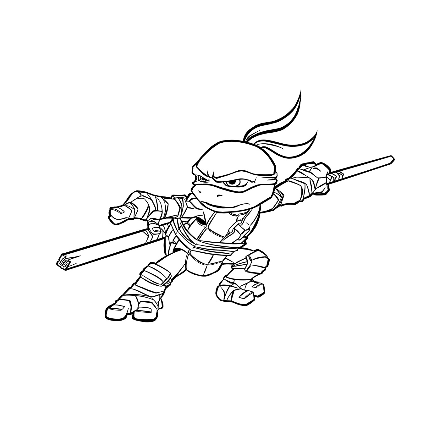 Chibi Donatello On Behance