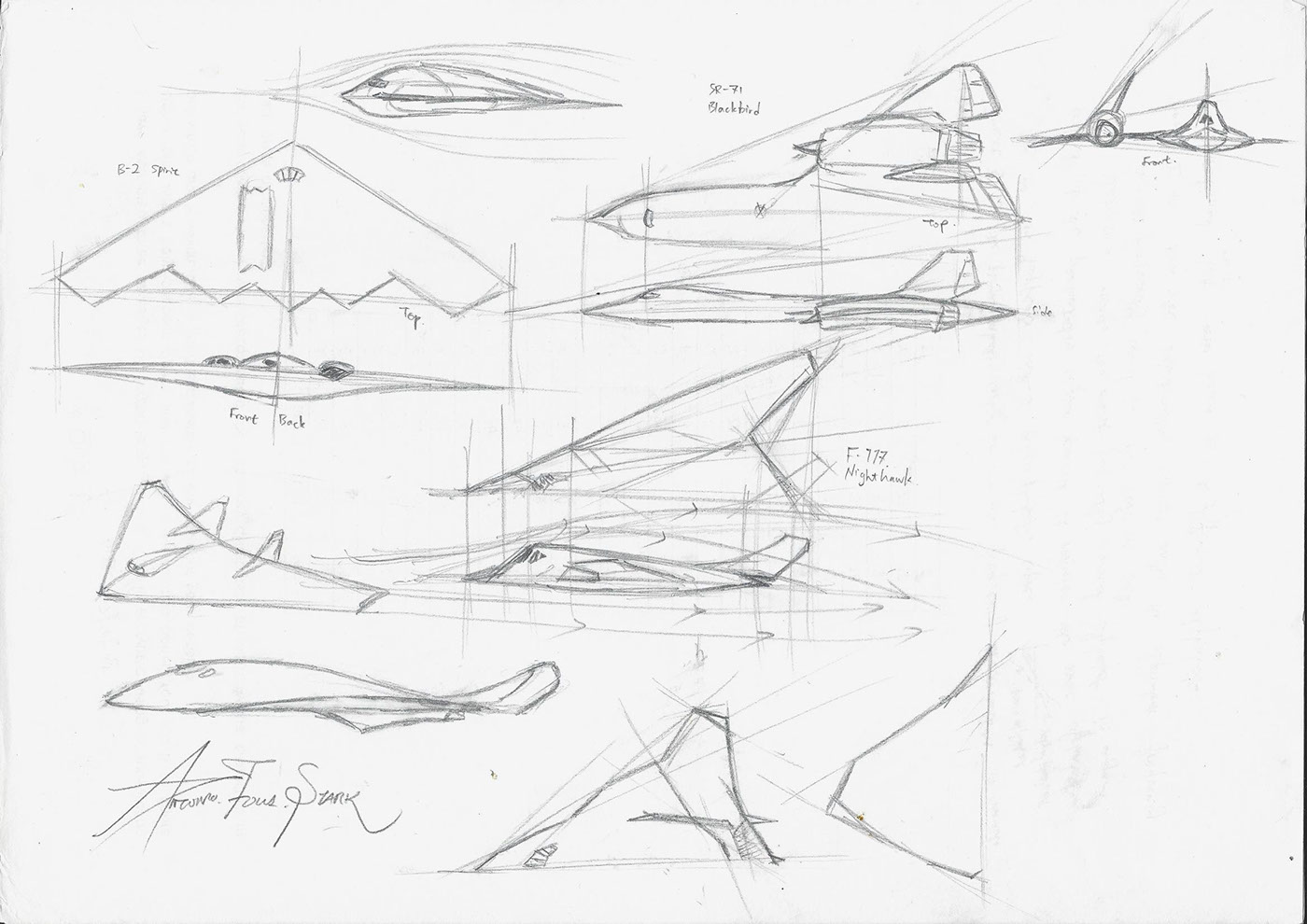 Aircraft Designs Compilations On Behance