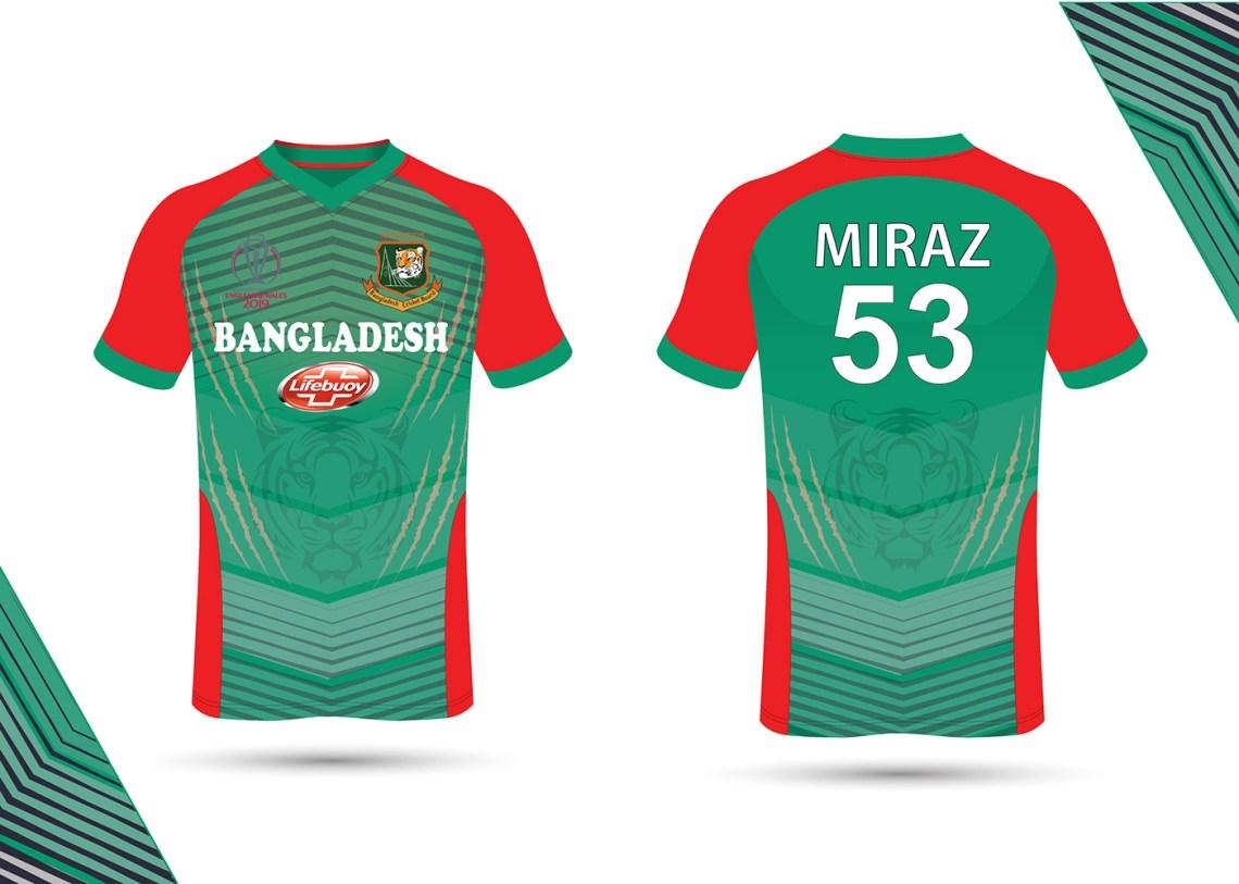 Download Bangladesh Cricket Jersey Design on Behance