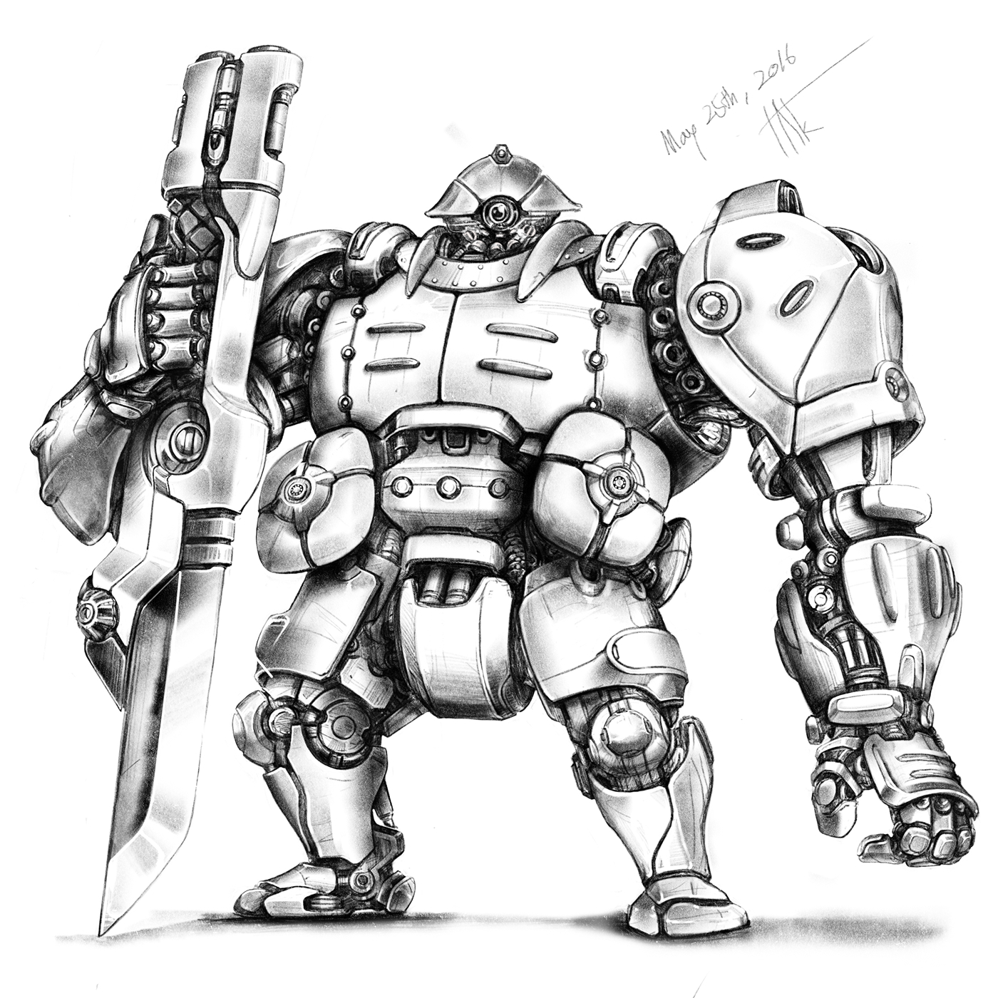 Robot Sketches On Behance