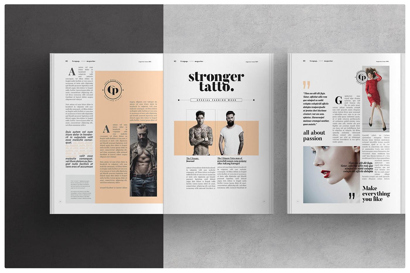 Magazine Layout On Behance