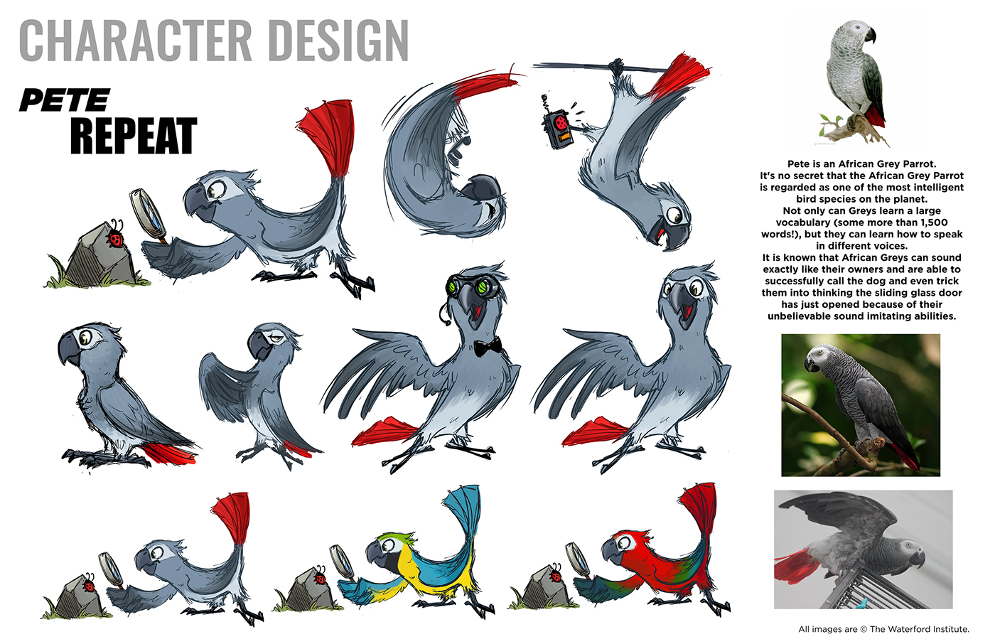Character Design Pete Repeat On Behance
