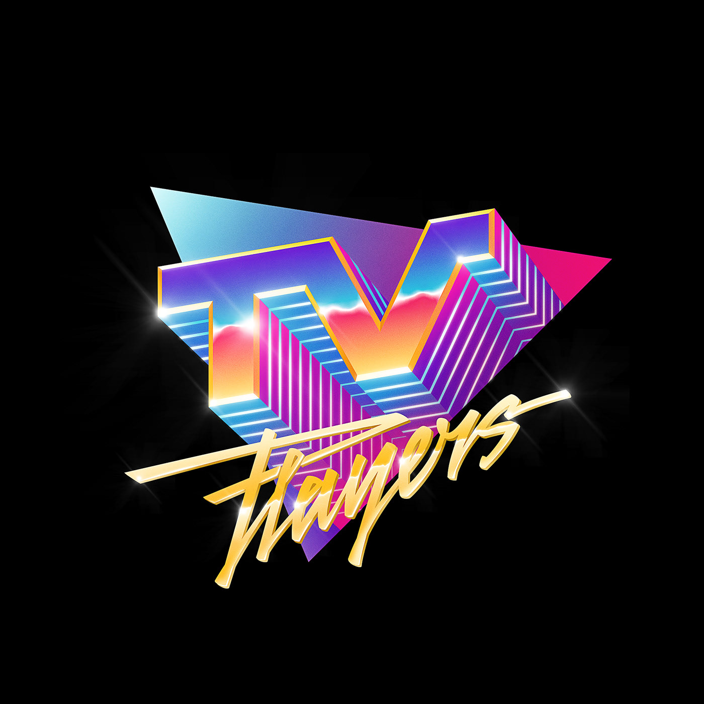 Pin by Bobby Johnes on 80s logos Synthwave, Synthwave