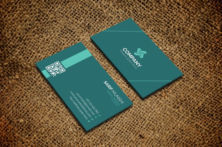 Professional Business Card - Free Download