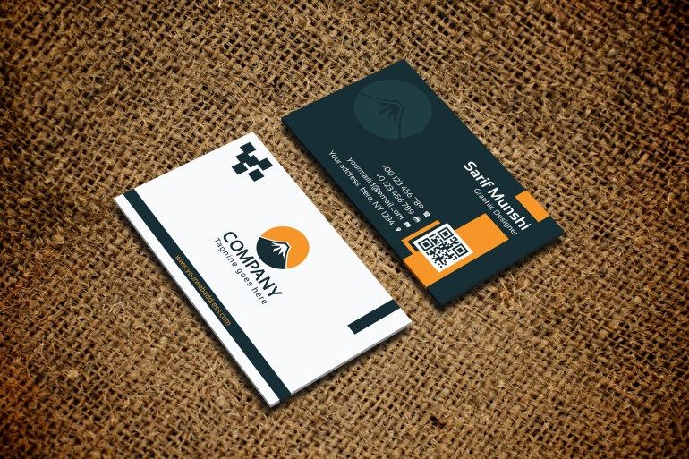 Creative Modern Business Card - Free Download