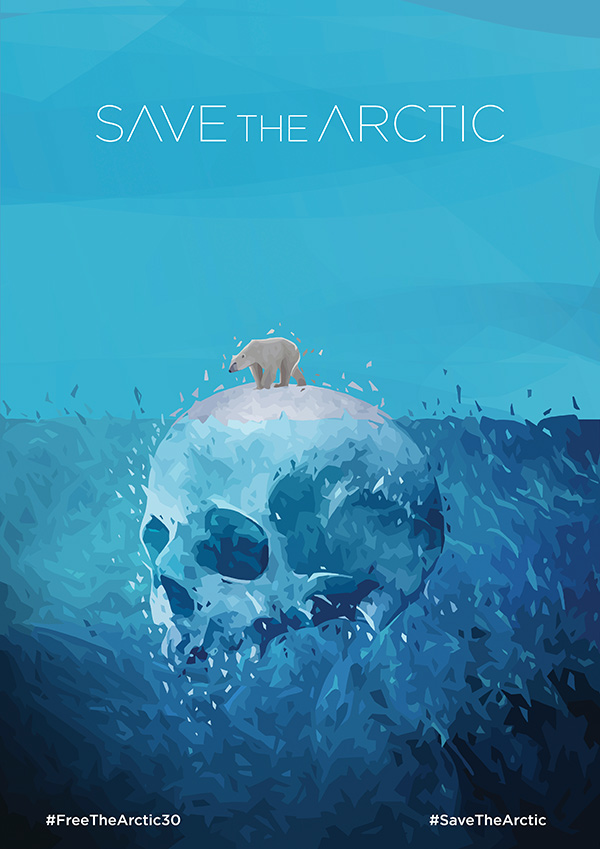 Save The Arctic On Behance