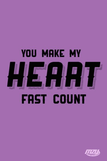 make my heart fast count