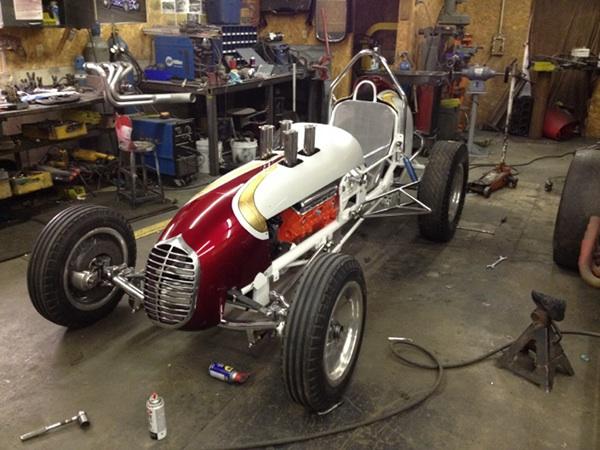 Spirit Of Saylor Park 1950 S Hillegas Sprint Car On Ccs