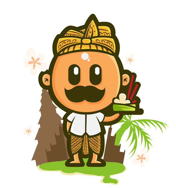 Mr Mustache Indonesian Culture On Behance