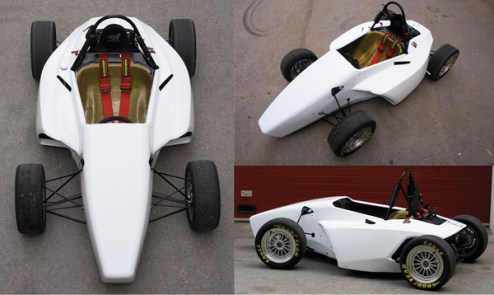 Formula student car body design on Behance