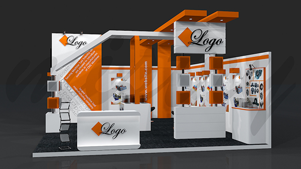 Exhibition Booth Design On Behance