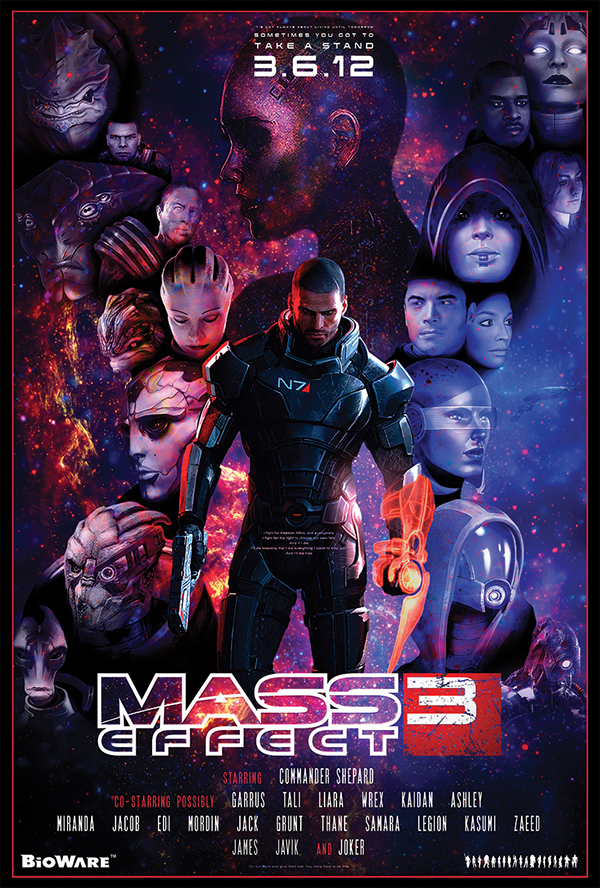 mass effect poster on aiga member gallery