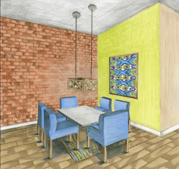 Interior Design Studio 1 Residential Design On SCAD