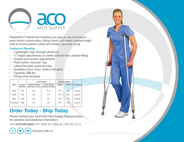 Aco Med Supply Ongoing Work On Behance