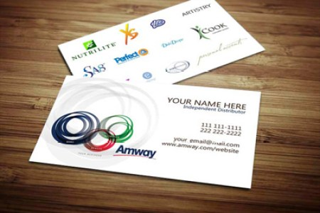 Amway Business Cards on Behance Order Amway cards today