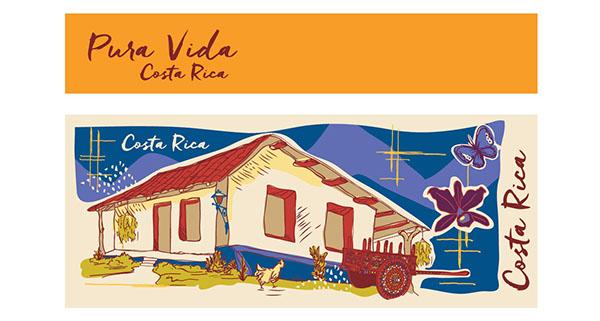 Carreta Tipica De Costa Rica Dibujo Buscar Con Google Costa