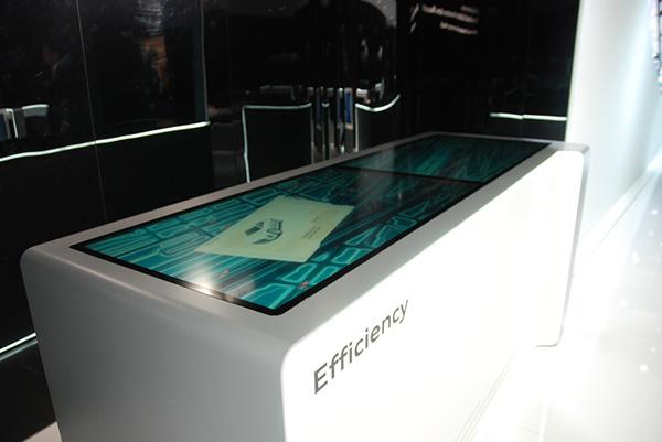Audi Exhibit Interface Design On Behance
