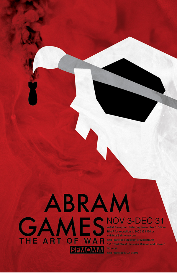 The Art Of War A Poster Exhibition Of Abram Games On Scad