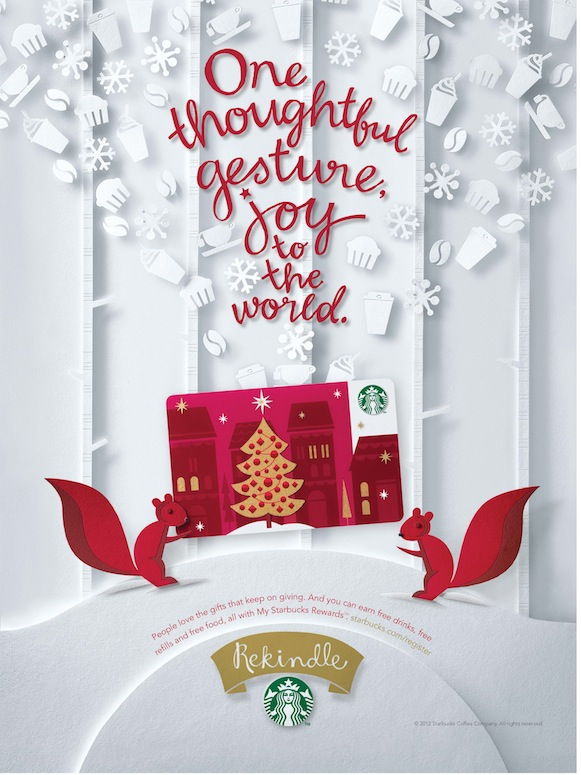 Starbucks Christmas 2012 Printed Ad Campaign On Behance