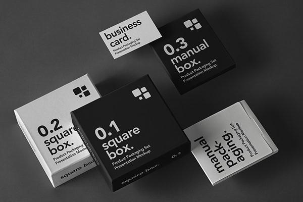 Download Box Mockup Vol.1 on Behance