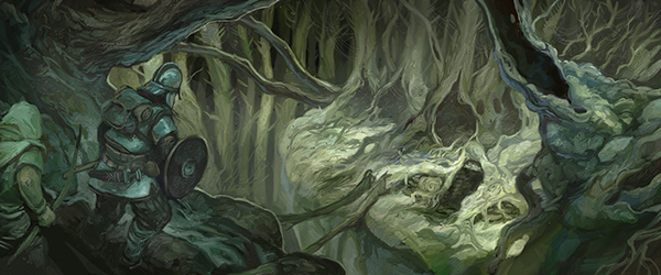 Mirkwood Boles, from The Darkening of Mirkwood for The One Ring RPG, by Jon Hodgson