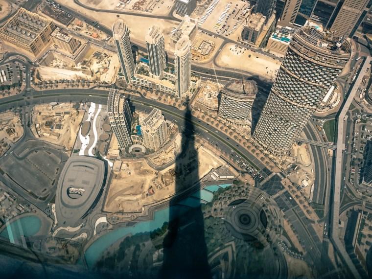 Photographie mobile: exploration de Dubaï et Burj Khalifa