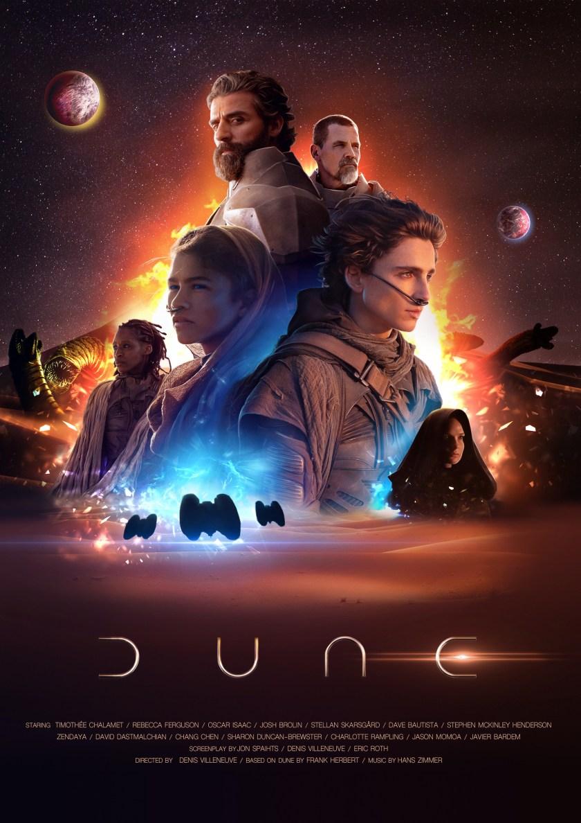 Dune. Movie poster. on Behance