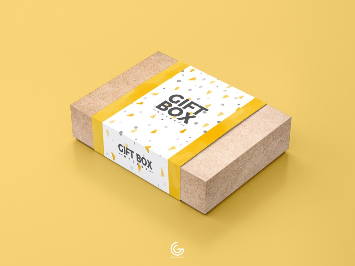 Download Free Craft Paper Gift Box Mockup PSD 2018 on Behance