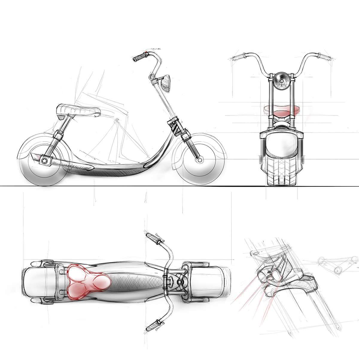 Scooterson On Behance