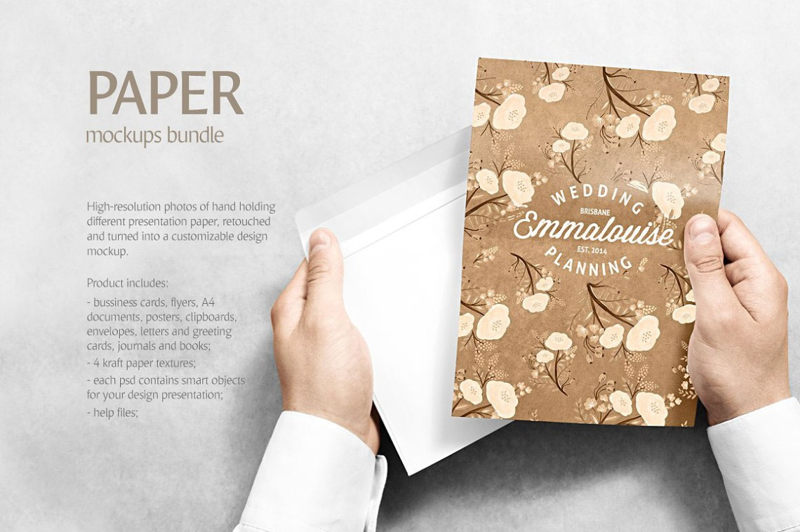 Download Magazine Us Letter A4 Mockup Template Yellowimages