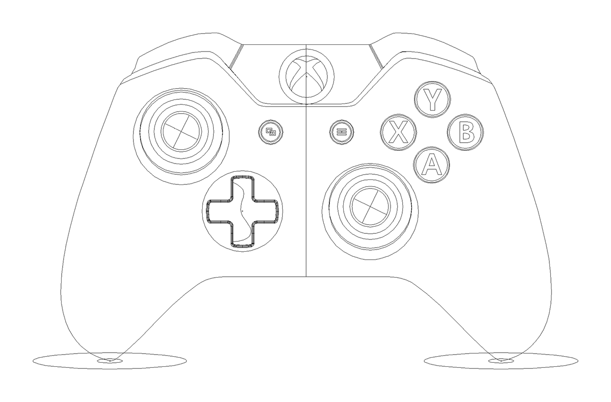 Xbox One Controller On Behance