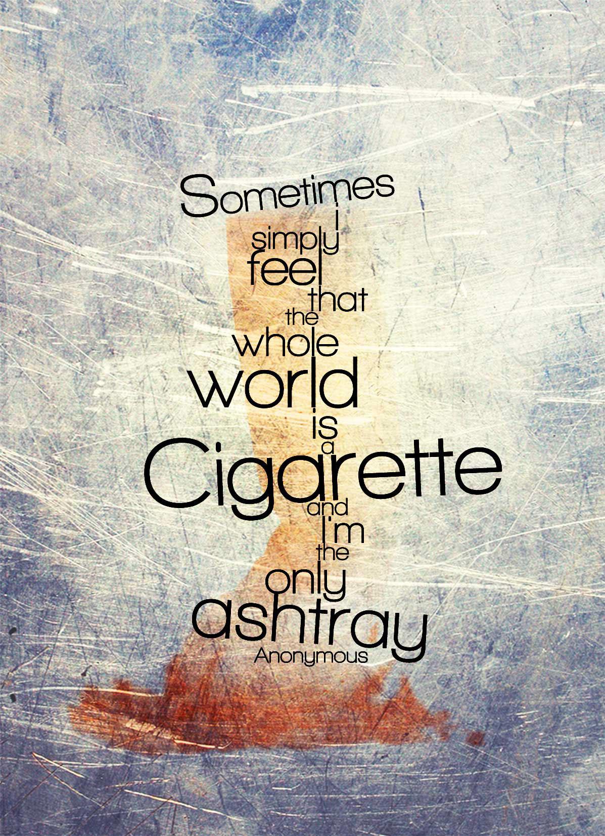 anti smoking poster breathe no evil on behance