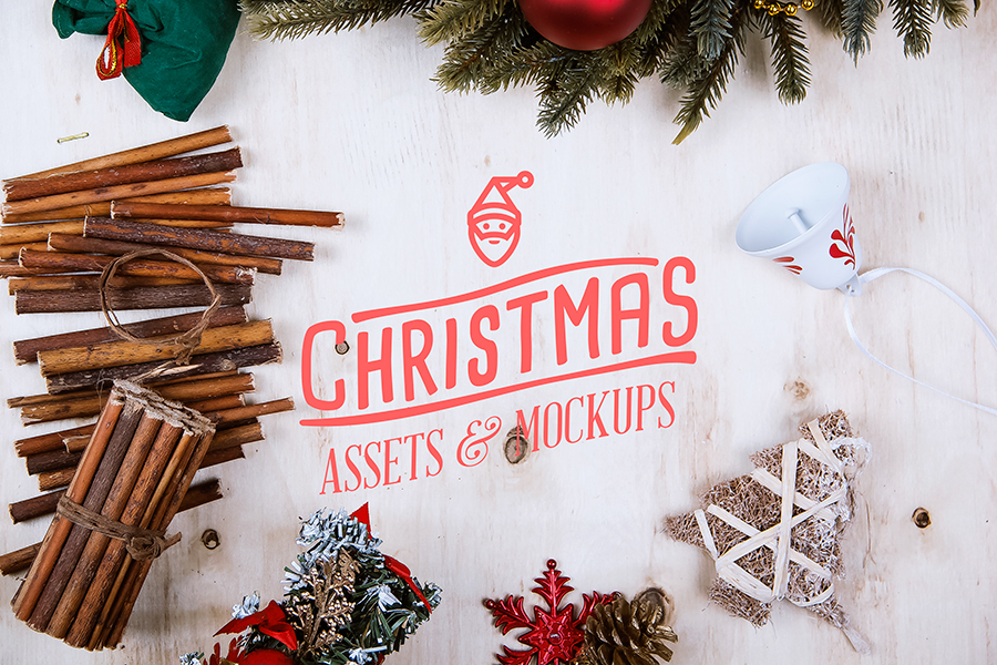 Christmas Assets Amp Mock Up Pack On Behance