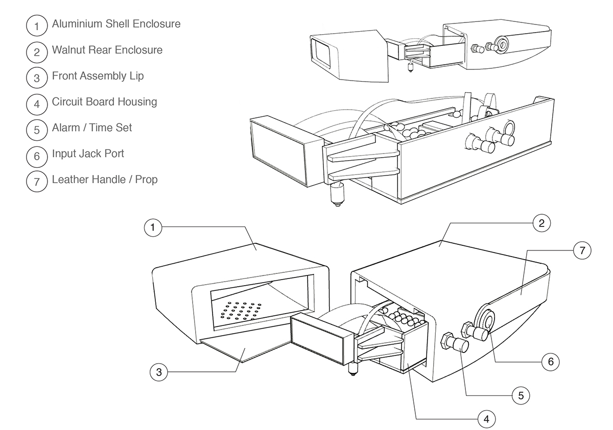 Alarm Clock Design | Wiring Diagram Database