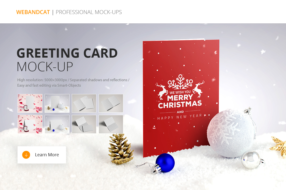 Invitation Greeting Card Mock Up On Behance