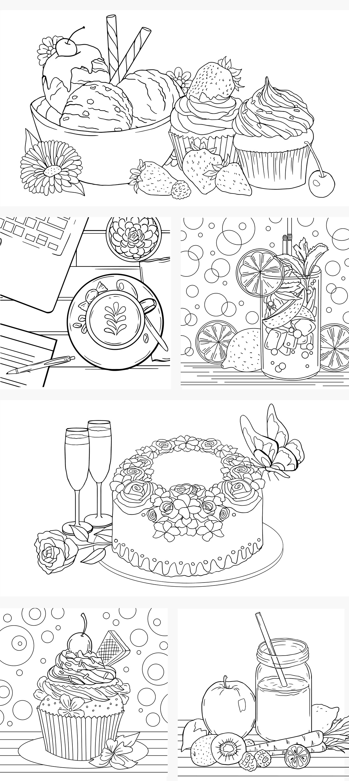 Coloring Pages Food On Student Show