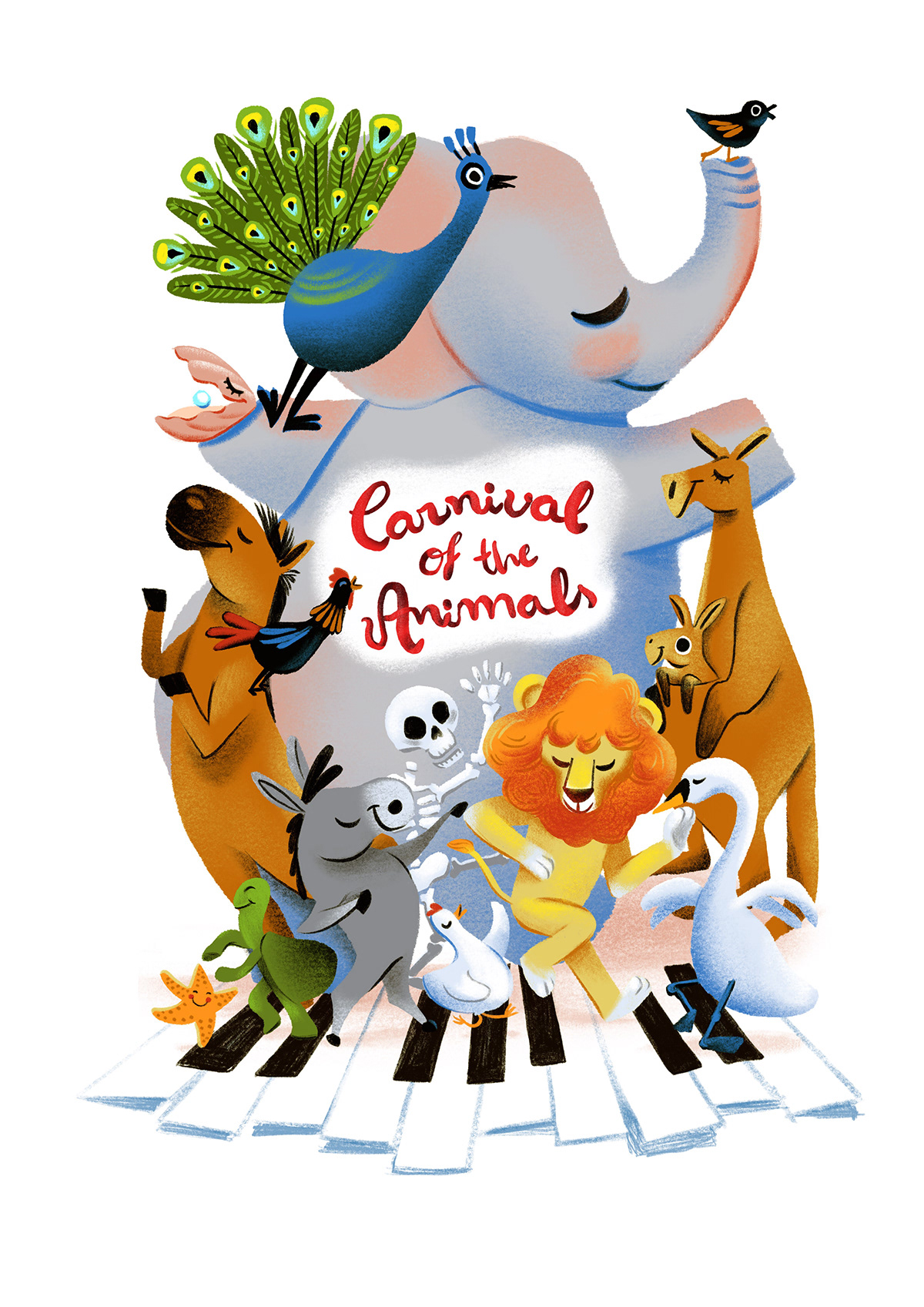 Carnival Of The Animals On Behance