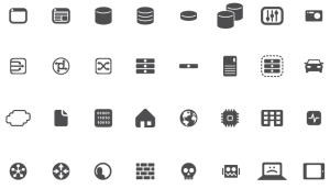 F5—work diagram icons on Behance