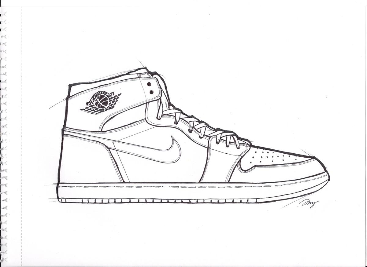 Air Jordan 1 On Behance