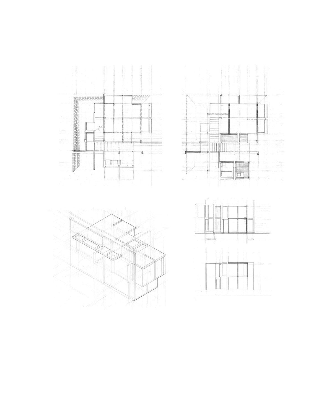 Yzing House Vi By Peter Eisenman On Behance
