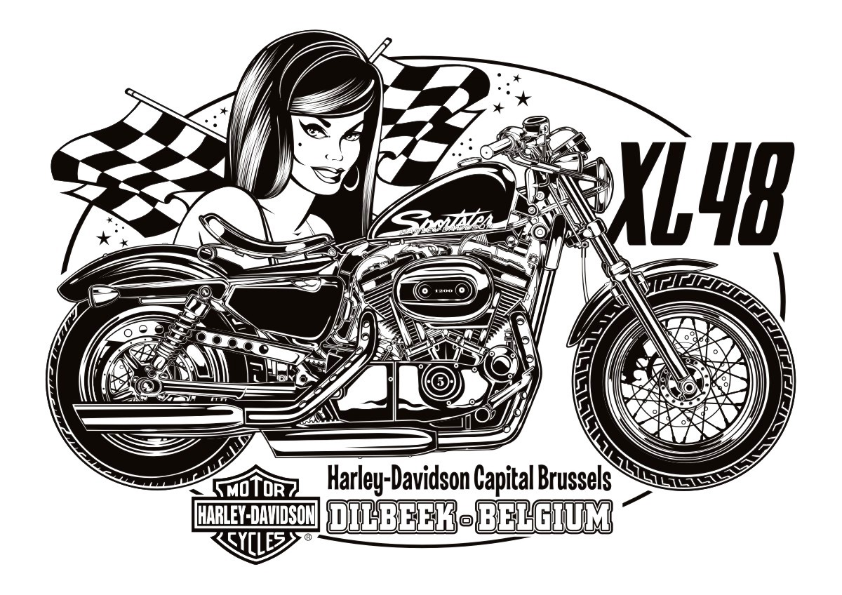 Pencil Drawings Harley Motorcycles Davidson