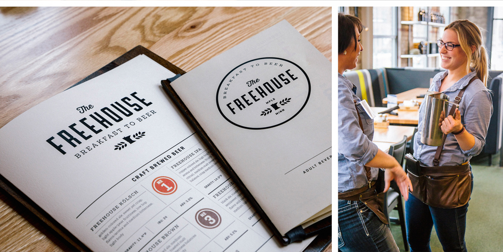 The Freehouse On Behance