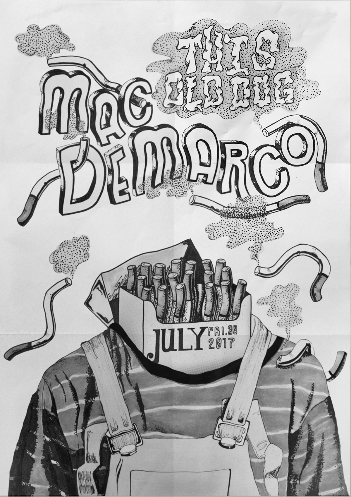 old dog gig poster on aiga member
