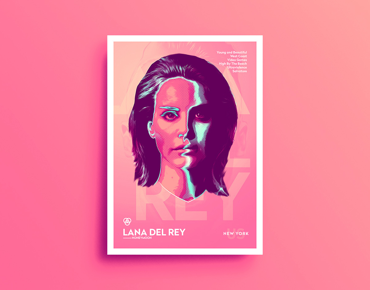 Bad Neon - Poster Series