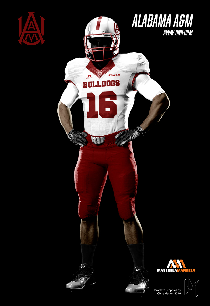 Download SWAC Football Uniform Mockups on Behance