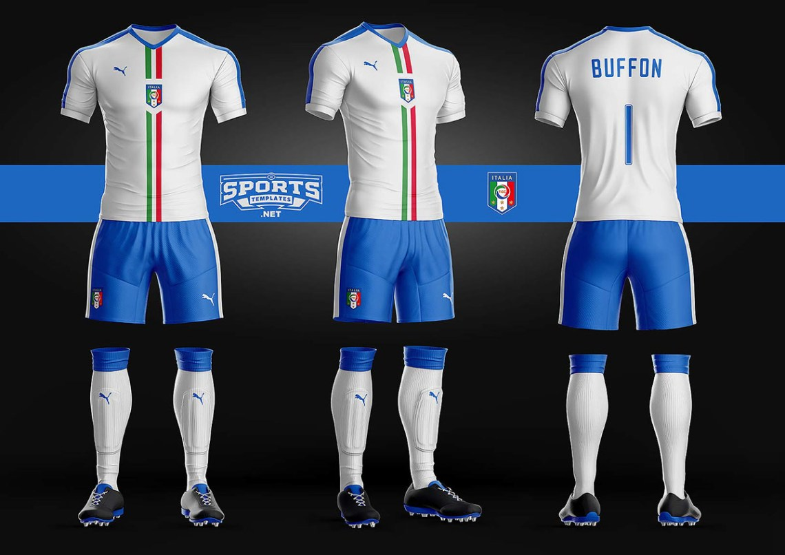 Download Goal Soccer Kit Uniform Template on Pantone Canvas Gallery