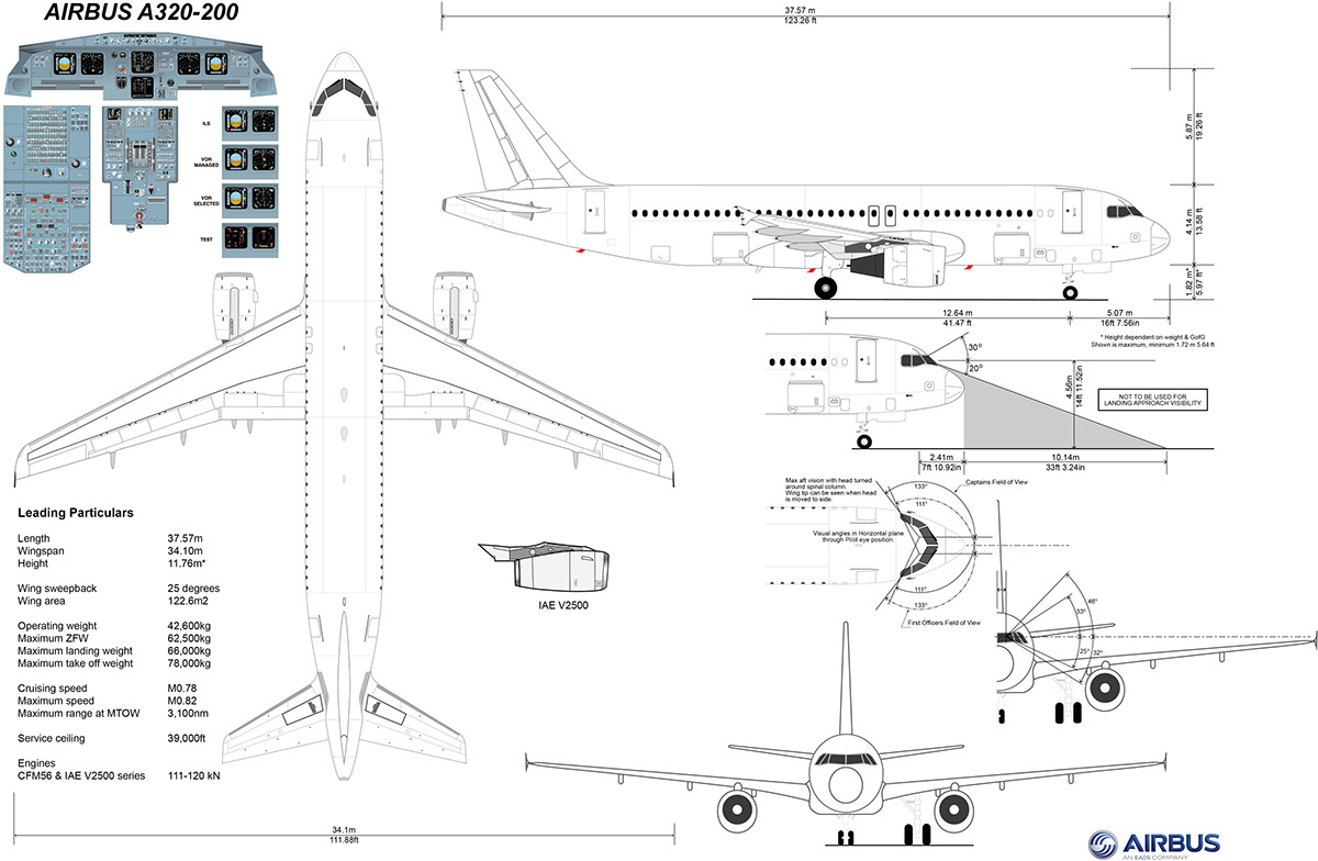 Airbus A320 200 Details On Behance