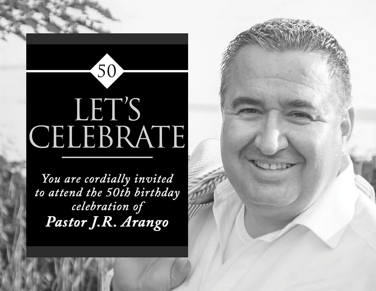pastoral birthday invitation on behance