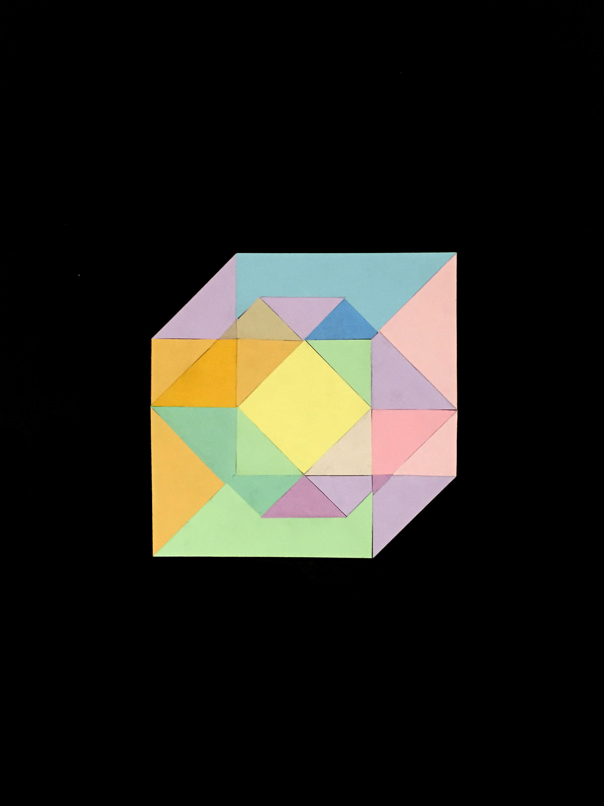 Transparency Spatial Illusion On Behance