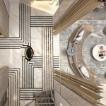Entrance Flooring Pattern Palm Hills Villa On Behance